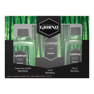Kit-Difusor-Sabonete-Liquido-e-Sache-Bamboo-Giorno