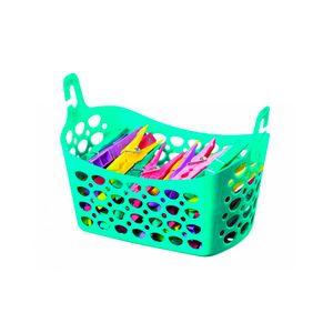 Cesto-Plastico-para-Prendedor-Verde-3834572