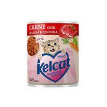 Alimento-Umido-Kelcat-Carne-com-Ervilha-e-Cenoura