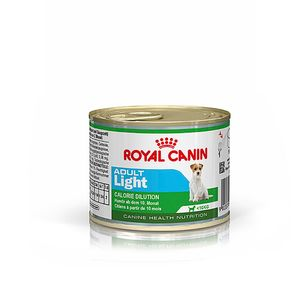 Alimento-Umido-Royal-Canin-Caes-Adulto-Light-Racas-Pequenas-195g