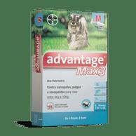 Advantage-Max3-Caes-4kg-a-10kg-Bayer