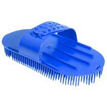 Escova-para-Caes-Alca-Regulavel-Azul-Pet-Flex