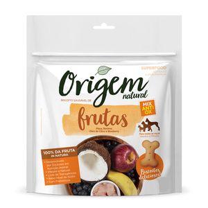 Biscoito Origem Natural Mix de Frutas Cães - 150g