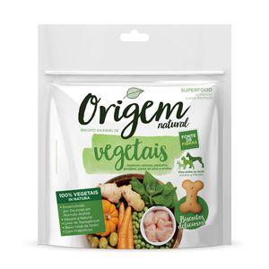 Biscoito Origem Natural Mix de Vegetais Cães - 150g