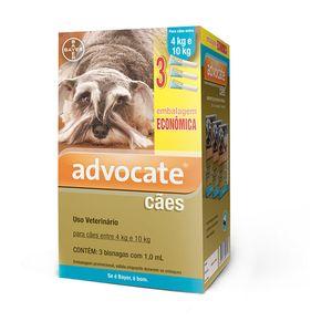Antipulgas Advocate Cães 4 a 10kg