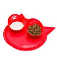 Kit-Jogo-Americano-Gato-Truqys-Pets-Vermelho
