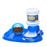 Kit-Bandeja-Comedouro-Bebedouro-Truqys-Pets-Azul
