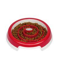 Comedouro-Slow-Food-Truqys-Pets-Vermelho