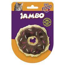 Brinquedo-Pelucia-Food-Cat-Donut-Chocolate-Jambo