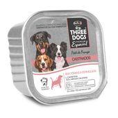 Alimento-Umido-Three-Dogs-Caes-Adultos-Castrados-Pate-Frango