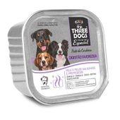Alimento-Umido-Three-Dogs-Caes-Adultos-Digestao-Pate-Cordeiro