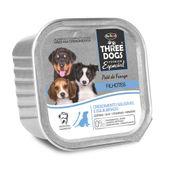 Alimento-Umido-Three-Dogs-Caes-Filhotes-Pate-Frango