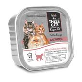 Alimento-Umido-Three-Cats-Gatos-Adultos-Castrados-Pate-Frango