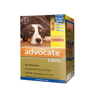 Antipulgas Advocate Cães mais de 25kg