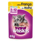 Alimento Úmido Whiskas Frango Filhotes