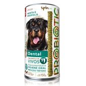 Petisco-Stick-Probiotic-SpinPet-Dental-Menta-e-Propolis