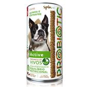 Petisco-Stick-Probiotic-SpinPet-Active-Quinoa-e-Espinafre