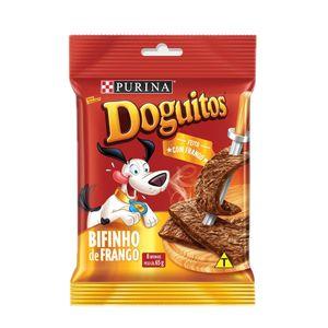 Petisco Cães Doguitos Rodízio Frango Purina 65g
