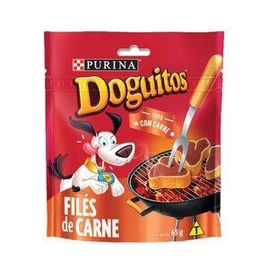Petisco Cães Doguitos Filé de Carne Purina 65g