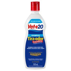 Shampoo Tira-odor Ginseng Vet+20 - 500ml