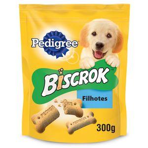 Biscoito Pedigree Biscrok Para Cães Filhotes - 300g