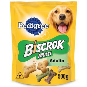 Biscoito Pedigree Biscrok Para Cães Adultos Multi