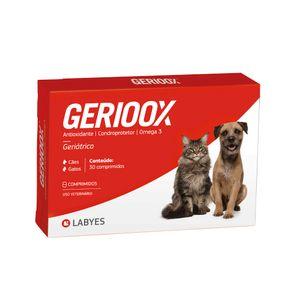 Gerioox Antioxidante Condroprotetor e ômega 3 para Cães e Gatos Labyes