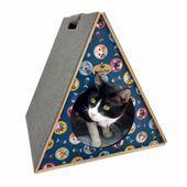 Toca-para-Gatos-com-Arranhador-Petit-Gato-Hello-Pet