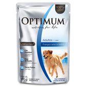 Alimento Úmido Optimum Cães Adultos Frango