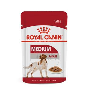 Alimento Úmido Cães Adultos Raças Médias Royal Canin 140g