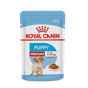 Alimento Úmido Cães Filhotes Raças Médias Royal Canin 140g