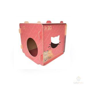 Cubo para Gato 2G Acessórios Pet Vermelho