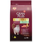 Racao-Gran-Plus-Gourmet-Gatos-Castrado-Peru-e-Arroz