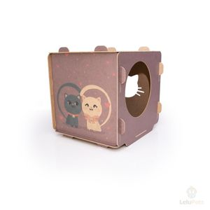 Cubo para Gato 2G Acessórios Pet Roxo