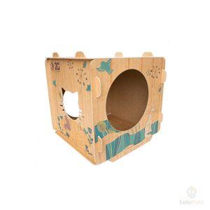 Cubo para Gato 2G Acessórios Pet Cat - Cubo para Gatos 2G Acessórios Pet Cubo Cat