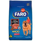 Racao-Faro-Macio-Caes-Adultos-Filhotes-Carne-900g