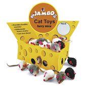Brinquedo-Display-Queijo-Brinquedo-Display-Queijo-com-60-Ratinhos-Jambo-com-60-Ratinhos-Jambo