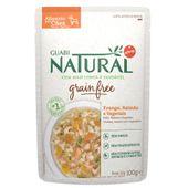 Alimento Úmido para Cachorro Adulto Guabi Natural Grain Free Salmão e Frango 100g