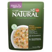 Alimento Úmido para Gato Castrado Guabi Natural Frango e Cereais 85g