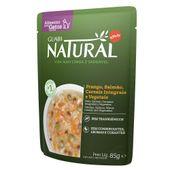 Alimento Úmido para Gato Castrado Guabi Natural Salmão e Frango 85g