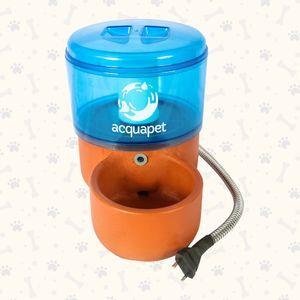 Bebedouro Fonte Acquapet com Bomba Azul - 2,5L