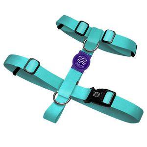 Peitoral H Classic Aquamarine Roxo