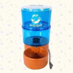 Fonte Acquapet com Bomba Azul 8L