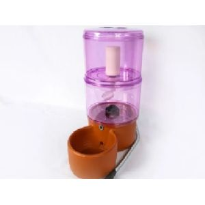 Fonte Aquapet com Bomba Rosa 8l - Acquapet 8l Rosa Com Bomba E Com Cabo Inox