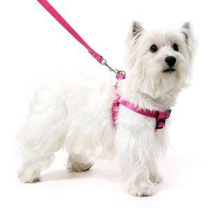 Peitoral para Cachorros Antipuxão - Rosa