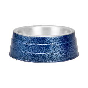 Comedouro Pesado Rústico Azul Agrodog