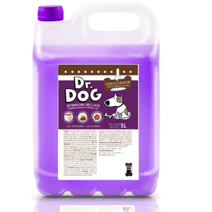 Condicionador Pet Dr Dog 5L - Desmaio de fios + Fluído desembolador 250ml