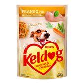 Alimento Umido Keldog Frango Ervilha e Cenoura 3953857