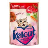 Alimento Umido Kelcat Carne Ervilha e Cenoura 3953890