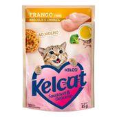 Alimento Umido Kelcat Frango Brocolis e Linhaça 3953946